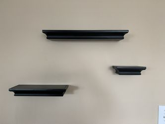 Wall Shelves (Set of Three) for Sale in Lynn,  MA