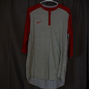 Nike Red Baseball Tee. Size Large for Sale in Riverside, CA