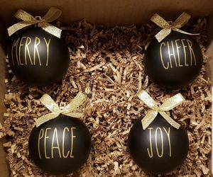 Rae Dunn inspired ornaments for Sale in Brunswick, MD