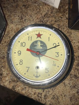 Antique Russian naval clock for Sale in Denver, CO
