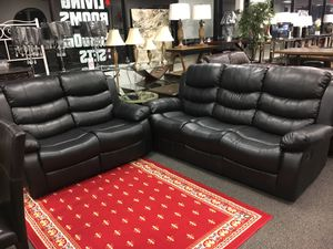 Reclining Sofa and loveseat (new) for Sale in Reston, VA
