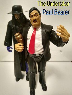 Wwe Mattel The Undertaker and Paul Bearer for Sale in Houston, TX