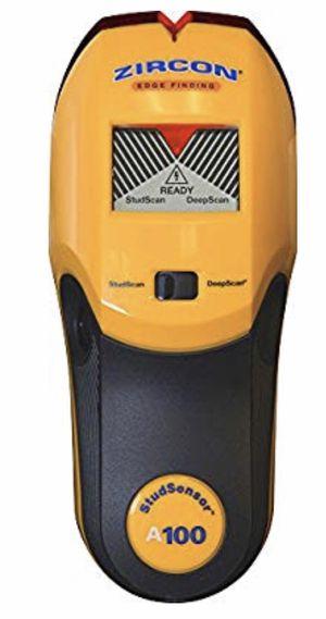 Zircon Stud Finder DIY/Pro StudSensor A100 Wall Scanner; StudScan Detects Edges of Wood for Sale in Lawrenceville, GA