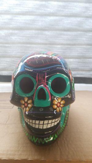 Dia de los muertos skull for Sale in Visalia, CA
