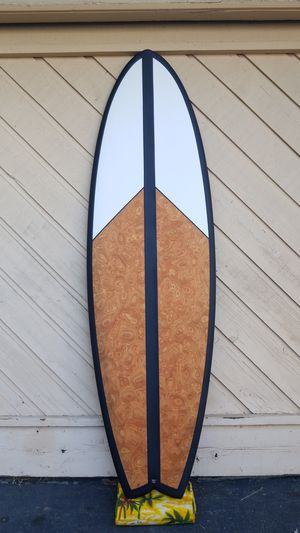 """Fish 6'6"""" 52 liter fish surfboard, EPS and carbon rails. NEW for Sale in La Mesa, CA"""