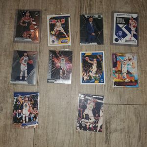Lot Of 10 Stephen Curry Trading Cards for Sale in DeFuniak Springs, FL