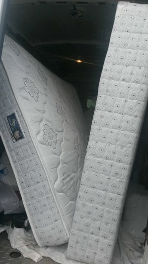 Comfortable new twin size mattress and box spring for Sale in Silver Spring, MD