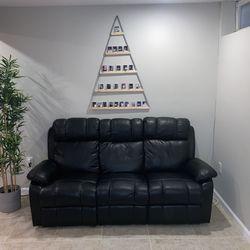 Sofa Recliner Black for Sale in Hanover,  MD
