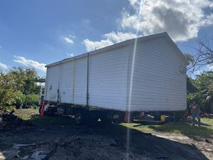 Sheds relocated,,, movemo casita de patio Rv container for Sale in Miami Gardens, FL