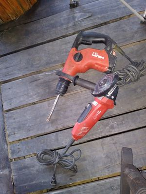 Hammer drill grinder for Sale in Hutchins, TX