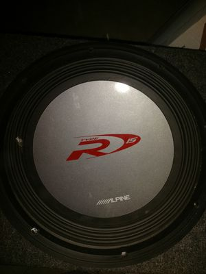 Alpine 15 sub! With sealed box ! for Sale in Springfield, MA