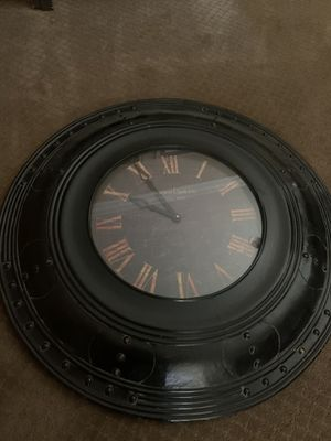 3x3 foot wall antique finish, battery operated clock. for Sale in Ontario, CA