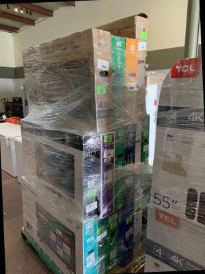 32 inch TV's !! Open Box TV Liquidation! Vizio, Onn, TCL and more! All new with Warranty! YQ E for Sale in Dallas, TX