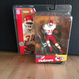 McFarlane NFL Action Figure Priest Holmes Kansas City Chiefs Football - new in package for Sale in Los Angeles, CA