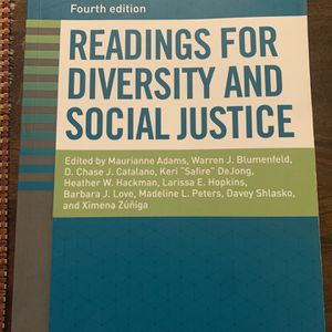 Readings For Diversity And Social Justice for Sale in Vancouver, WA
