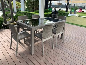 Outdoor dining set furniture new in box for Sale in Miami, FL