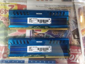 Patriot ram 4gbx2 DDR3 for Sale in Erie, PA