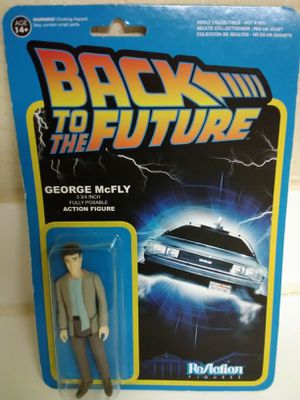 "GEORGE McFLY 4"" Action Figure - Back To The Future - 80s Movie New! for Sale in Las Vegas, NV"