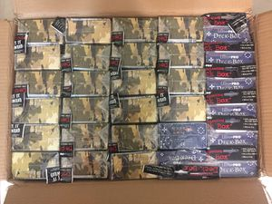 60 Trading Card Deck Boxes - can hold Pokémon, Magic, Yugioh cards for Sale in Clovis, CA