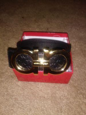 Louis Vuitton and Ferragamo belt for Sale in Manassas, VA