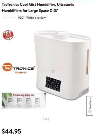 Cool mist humidifier for Sale in Irvine, CA