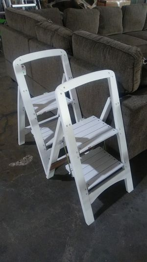 step ladder - $20 each for Sale in Dallas, TX