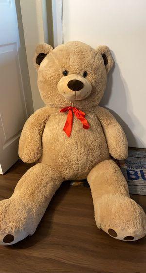 Giant teddy bear plush 4foot for Sale in Elgin, IL