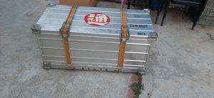 Caga de aluminio / aluminum storage box for Sale in Gardena, CA