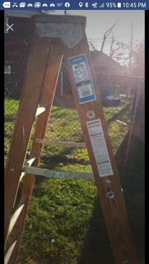 Werner 6ft wooden ladder for Sale in Wayne, PA