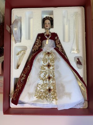 Barbie doll rare Faberge imperial splendor porcelain doll limited edition Barbie collection for Sale for sale  Riverside, CA