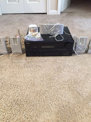 Phillips speakers and Onkyo receiver for Sale in Murfreesboro, TN