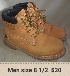 Mens boots 8 1/2 for Sale in Eustis, FL