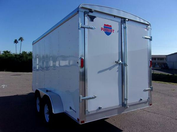 7X14 Carry On Enclosed Trailer