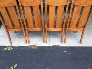 Oak wood dining room table set Make me an offer for Sale in Bloomfield Hills, MI