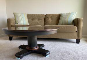 Crate & Barrel Copper coffee table for Sale in Charlottesville, VA