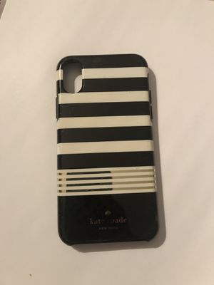 Kate Spade striped iPhone X for Sale in West Mifflin, PA