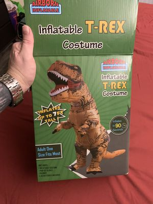 ADULT TREX COSTUME for Sale in Las Vegas, NV