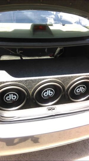 3 12's DB Drive 2k's (Trade) for Sale in Chicago, IL