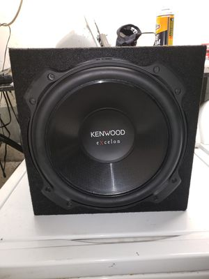 Kenwood eXcelon KFC-XW120 12 Inch Subwoofer Driver for Sale in Santa Fe Springs, CA