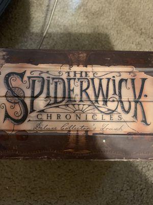 The Spiderwick Chronicles books deluxe collector's for Sale in San Antonio, TX