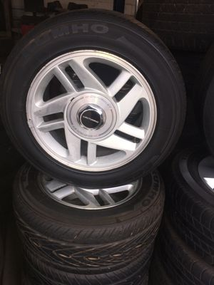 16 inch Chevy camaro wheels for Sale in Nashville, TN