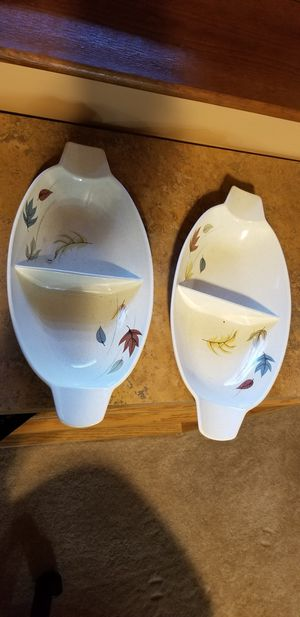 Two serving dishes for Sale in Lowell, MA