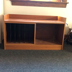 Solid Wood TV Stand for Sale in Chicago, IL