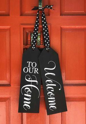 Wood Door hanging Signs for Sale in Culpeper, VA