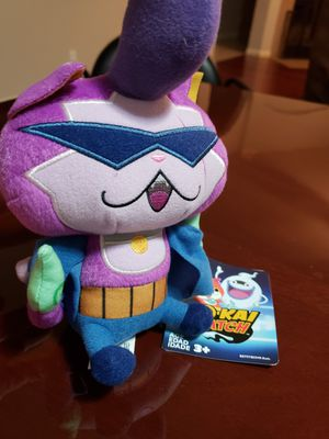 "Yo-kai BADDINYAN 8"" Plush Doll New Hasbro for Sale for sale  Pflugerville, TX"