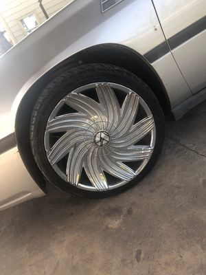 "20"" inch rims for sale...450.00 o.b.o for Sale in Houston, TX"