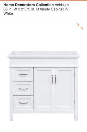 36 inch vanity for Sale in Austell, GA