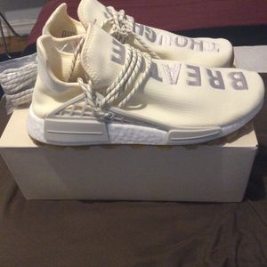 Adidas NMD Hu Trail Pharrell Now Is Her Time Cream White (size 10) *See other offers as well* for Sale in Brooklyn, NY