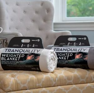 12-lb Weighted Throw Blanket by Tranquility for Sale in Boiling Springs, SC