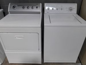 Kenmore washer and dryer set exellent condition working perfectly clean and neat warranty and deliver for Sale in Arbutus, MD